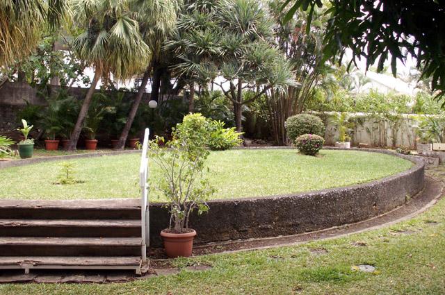 Villa du Département jardin, ancien bassin
