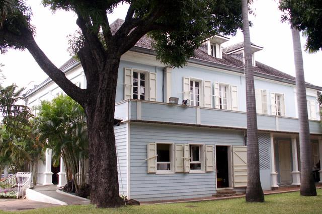Villa du Département façade Est