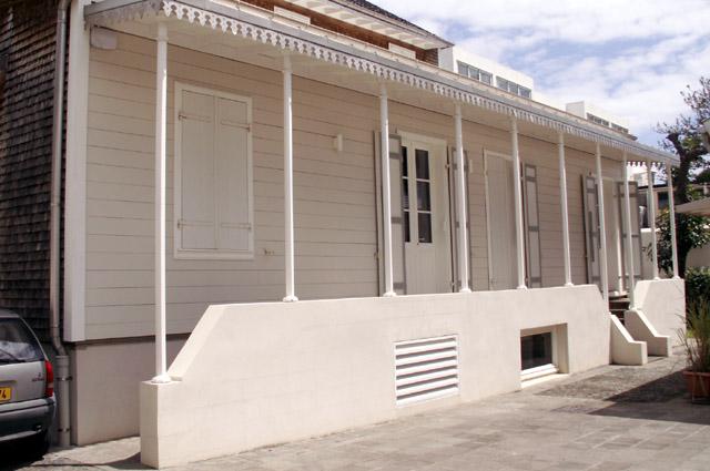 Villa du Général varangue arrière