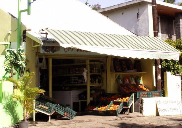 commerce étang-salé île de La Réunion