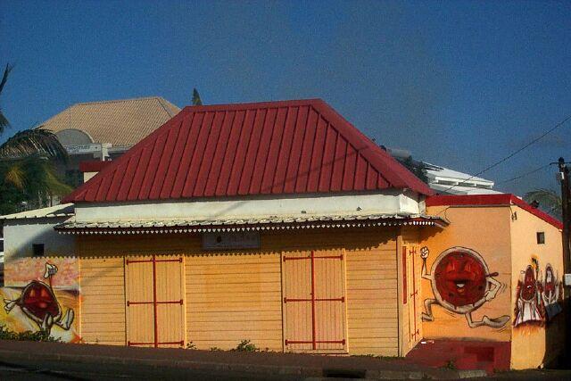 Commerce centre ville de Saint-Pierre