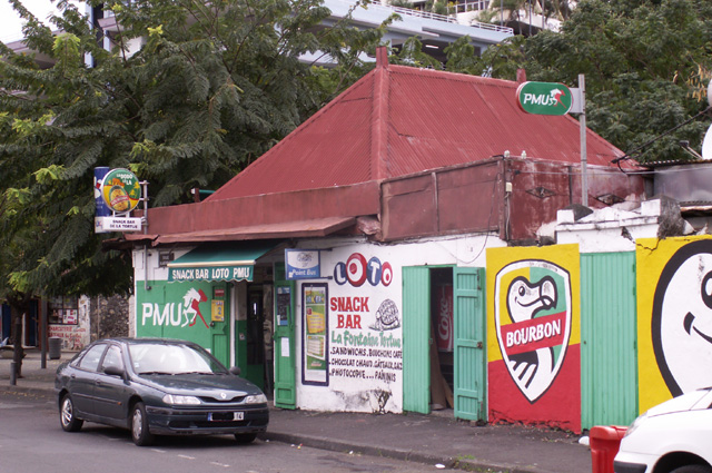 Snack bar quartier la Rivière à Saint-Denis