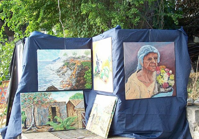 Exposition rivière d'abord Saint-Pierre 2003