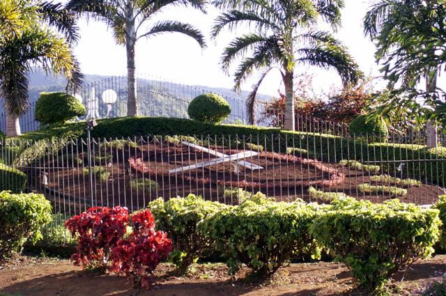 Horloge végétale de Bras de Pontho La Réunion