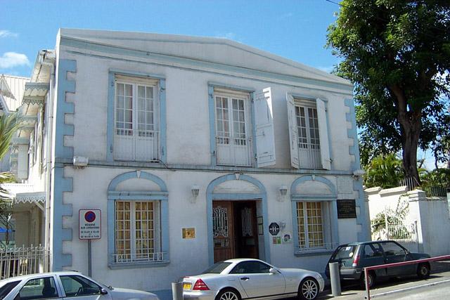 Maison natale Juliette Dodu à Saint-Denis