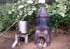 Distillation du Géranium Rosat : Alambic