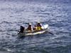 Pêcheurs à l' Anse des Cascades