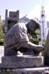 Lettre L Sculpture rond point des Sources à Cilaos