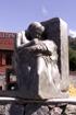 Lettre O Sculpture rond point des Sources à Cilaos