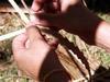 Tressage de Feuilles du vacoa