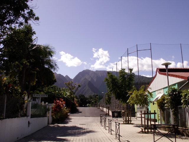 Rue Entre-Deux île de La Réunion