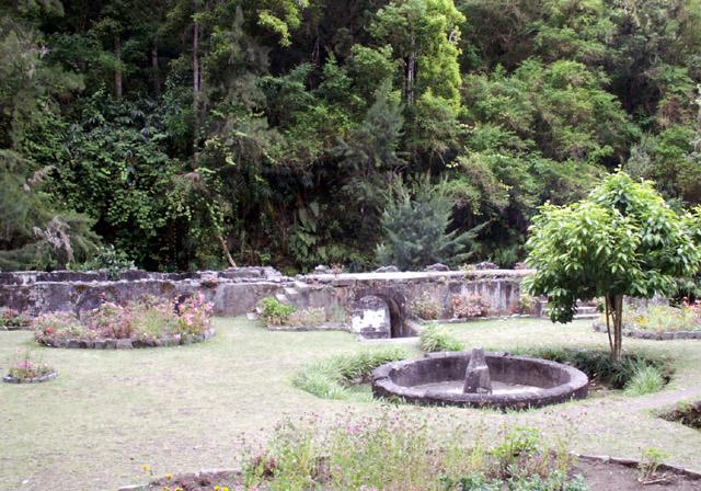 Vestiges des Thermes de Salazie Hell-Bourg La Réunion