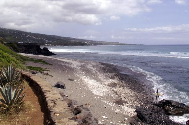 Spot de Surf à Saint-Leu La Réunion