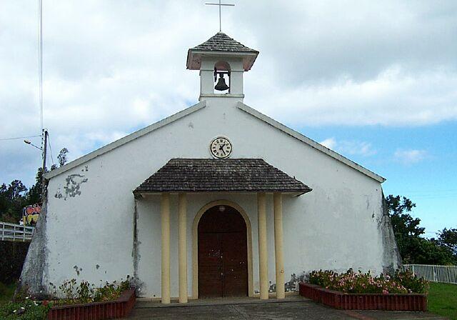 église Bérive île de La Réunion