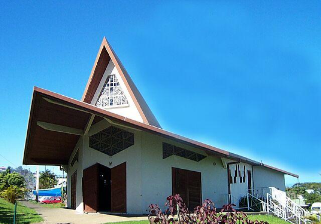 église Bérive La Réunion