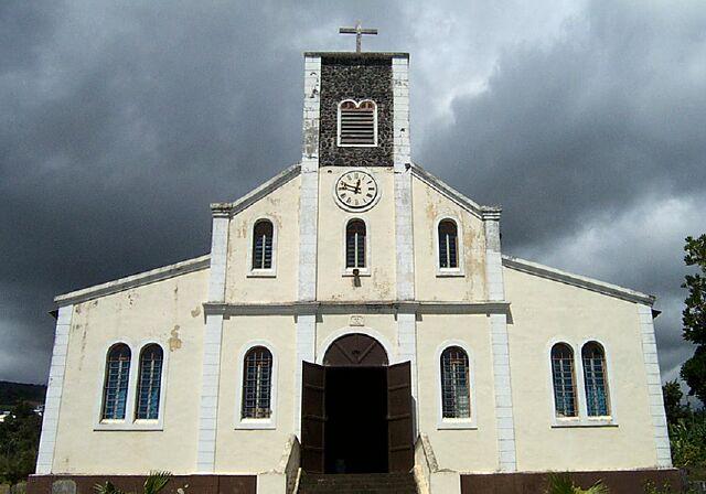 église Bois de Nèfles La Réunion