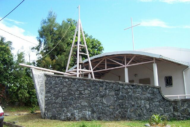 église Bras Panon île de La Réunion