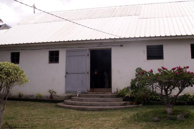 Chapelle Christ-Roi au Maniron à L'Étang-Salé