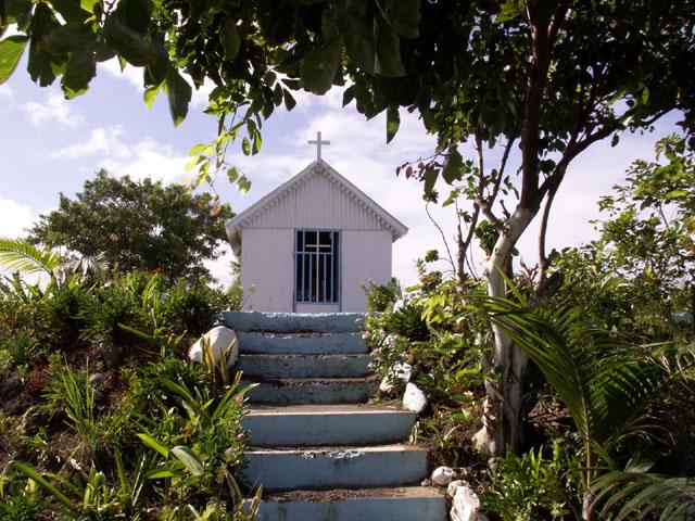 Chapelle Pointe du Diable à Saint-Pierre