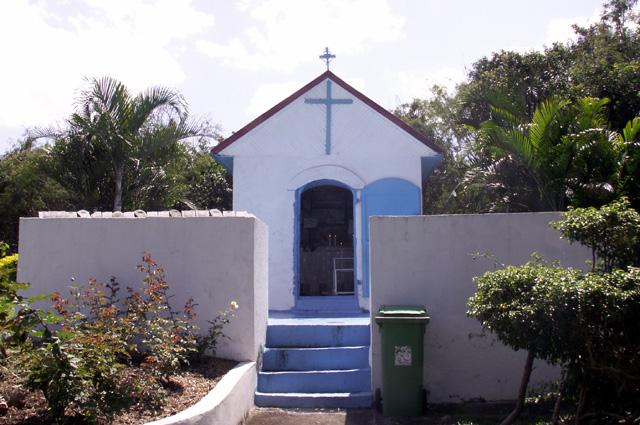 Chapelle du Sacré-Coeur Route du Maniron étang-Salé