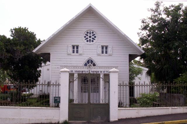 Chapelle Saint-Thérèse à Saint-Pierre La Réunion