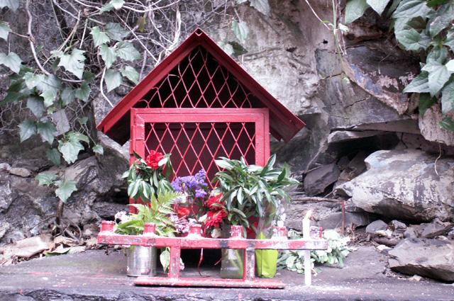 Chapelle Ti quat Sous quartier de La Rivière à Saint-Denis
