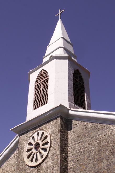 Clocher église Saint-Gabriel La Montagne