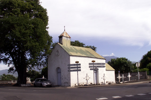 église à Bois d'Olive La Réunion