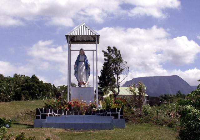 église de Jean Petit commune de Saint-Joseph île de La Réunion