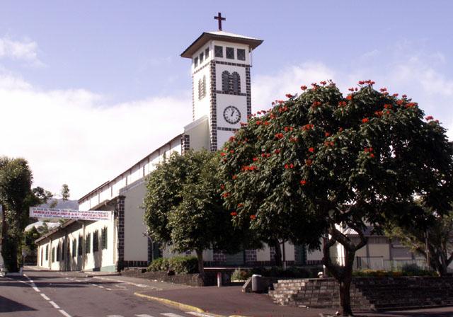 Église Saint-François de Sales Le Tampon île de La Réunion