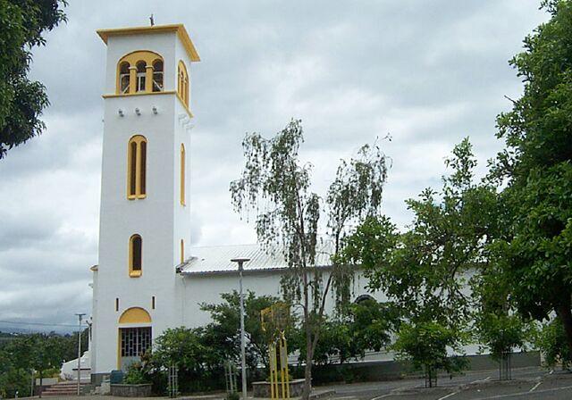 Église Saint-Vincent de Paul à l'Entre-Deux La Réunion