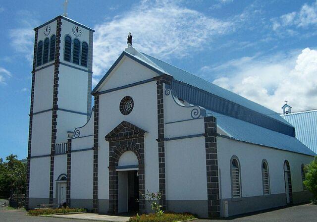 Église Saint-Dominique Etang-Salé île de La Réunion