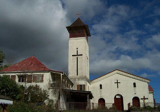 Église Saint-Christophe La Chaloupe Saint-Leu La Réunion