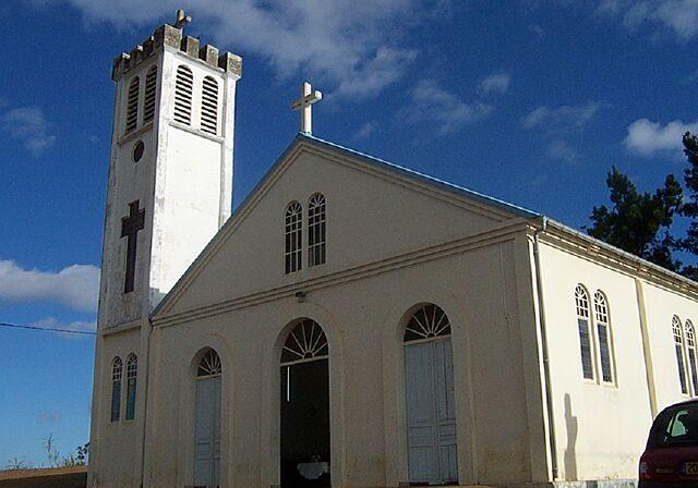 église Le Plate La Réunion
