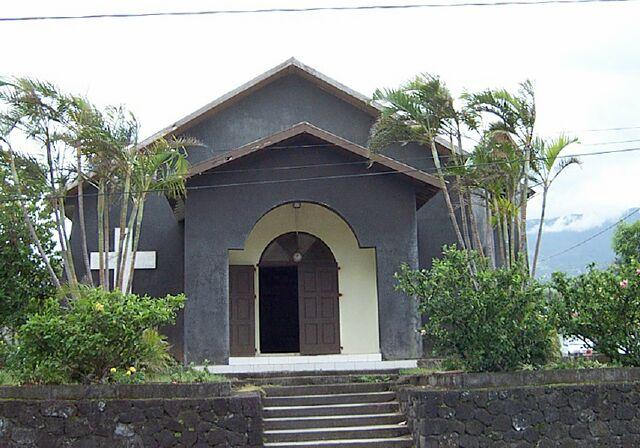 église Langevin La Réunion