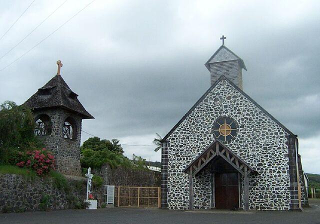 église Le Guillaume La Réunion