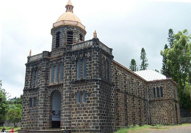 église Les Colimaçons Sacré Coeur La Réunion