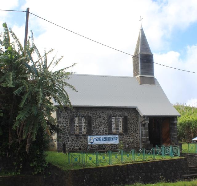 Chapelle des Trois Sans Hommes à Manapany La Réunion