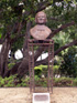 Buste Alexandre Monnet parvis Cathédrale de Saint-Denis La Réunion