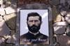 Portrait du Père Boiteau sur sa tombe à Cilaos