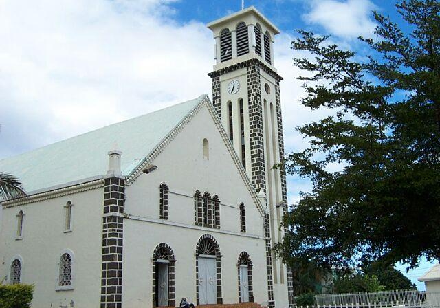 Église Saint-Jean l'Evangéliste Petite-Ile à La Réunion