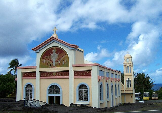 Église Piton-sainte-rose Notre Dame des Laves