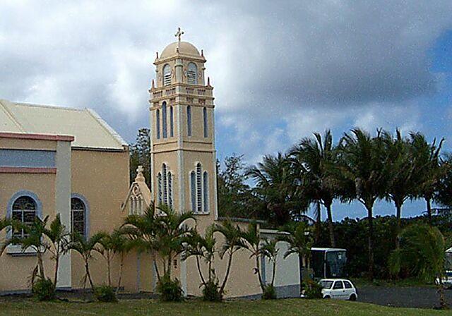 Église Piton-sainte-rose Notre Dame des Laves La Réunion