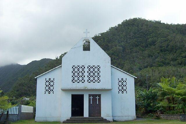 église Plaine-des-Gregues La Réunion