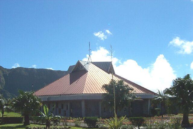 Église Sainte Agathe Plaine des Palmistes La Réunion