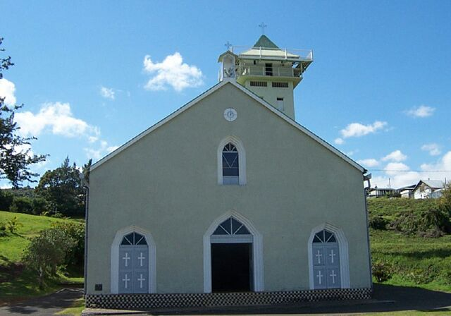 Église Pont d'Yves ND de la Salette La Réunion