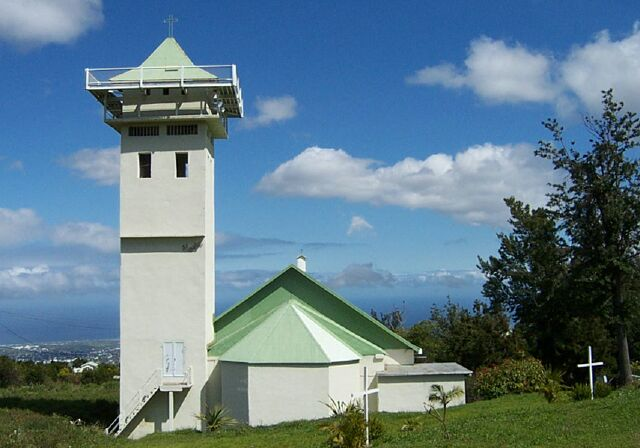 Église Pont d'Yves Notre Dame de la Salette La Réunion