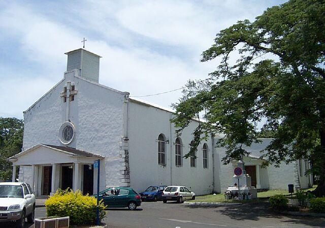 église Rivière des Pluies La Réunion