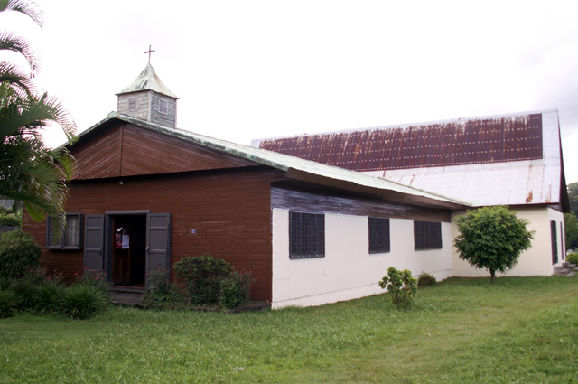 église de la Rivière du Mât les Hauts Bras-Panon La Réunion