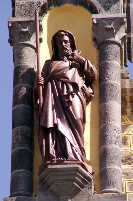 Statue Saint Joachim à Notre Dame de La Délivrance